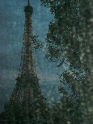 Eiffel tower-monet