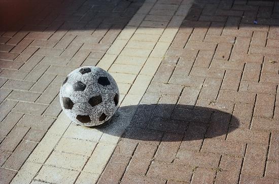 Soccer Ball closeup Achour
