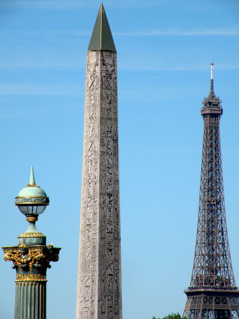 Triple monuments- Place de la Concorde
