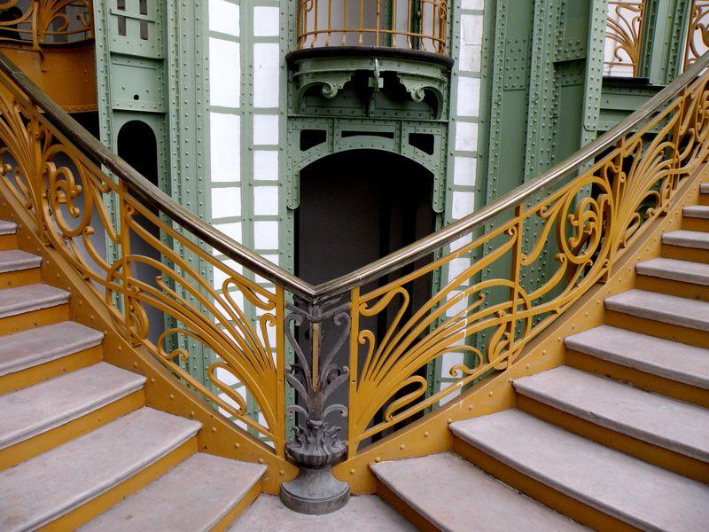 Stairway Grand Palais