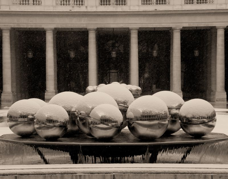 Winter at Palais Royal