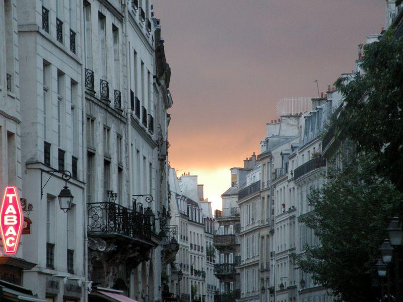 Marais Sunset