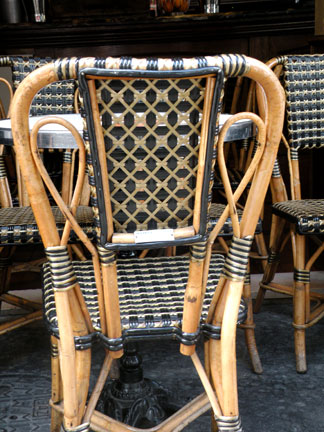 I Prefer Paris Paris Cafe Chairs