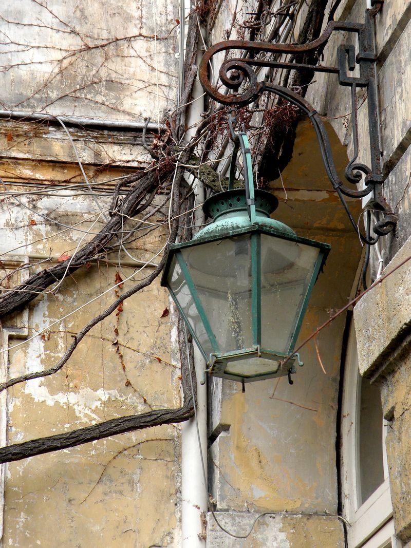 Lantern at Hotel Chatillon
