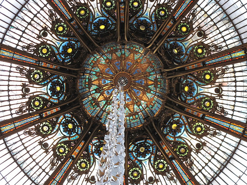 Paris shopping galeries lafayette