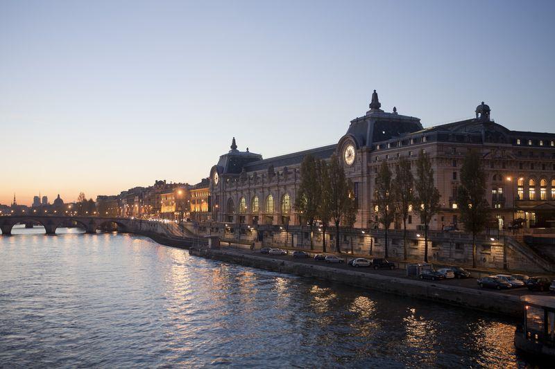 Musée d'Orsay au matin - (c) Patrice Schmidt