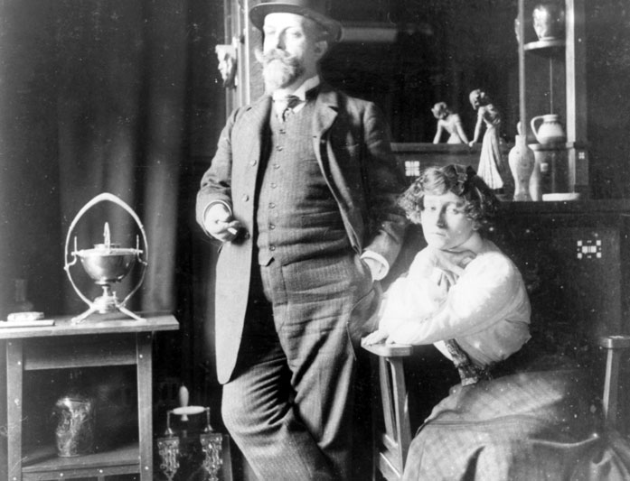 7. Colette and Willy rue Jacob