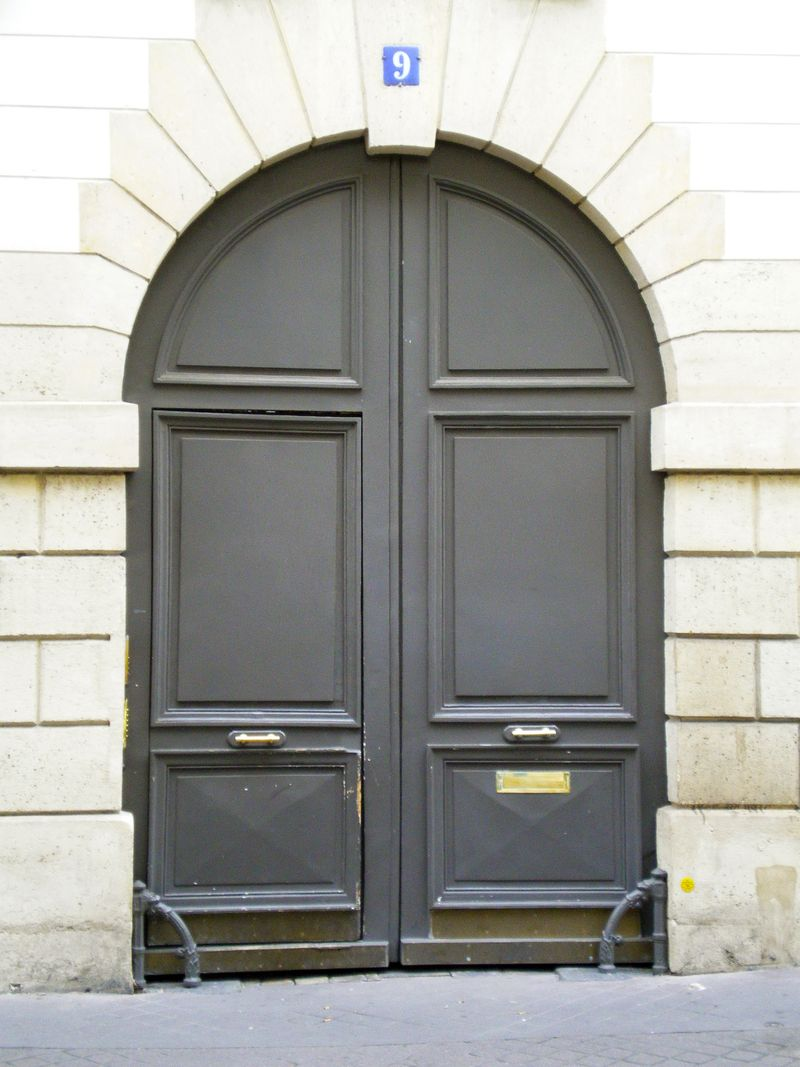 Door of No 9