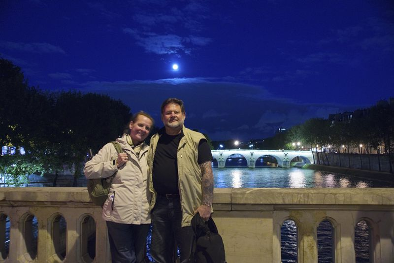 Night Walk Robin & Craig